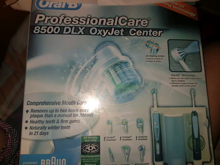 BRAND NEW IN THE BOX UNOPENED  ORAL B PROFESSIONAL care 8500 DXL