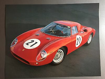 1964 Ferrari 250 LM Coupe Print, Picture, Poster RARE!! Awesome L@@K