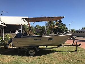 BOAT AND TRAILER - HURRICANE Baynton Roebourne Area Preview