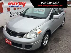 2012 Nissan Versa 1.8 SL NAVIGATION, ALLOY WHEELS