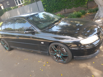Vx supercharged 6 151000km black with black leather