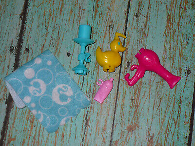 Mattel Barbie Doll Accessory Lot Life in the Dream House BATHROOM ACESSORIES