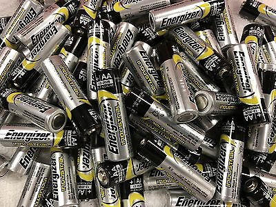 Energizer Industrial AA RC Radio 1.60 Volt Batteries 100 Pack Toys New
