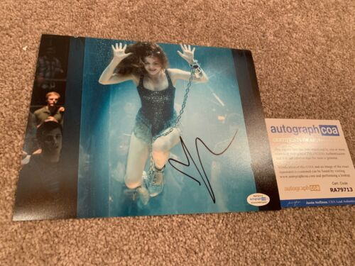 ISLA FISHER SIGNED 8x10 PHOTO PROOF ACOA AUTOGRAPHED NOW YOU SEE ME