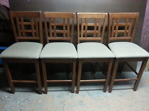 Dining chairs (bar stool type)