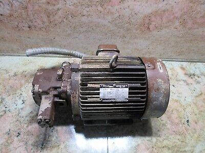Diesel Kiki Motor Pump Type Tfo 2.2kw Form K Tsugami Ma3h Cnc Hydraulic Oil