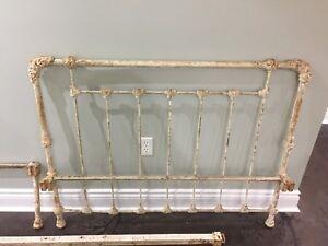 Antique Metal Bedframe