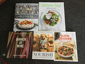 Various Cookbooks Adamstown Newcastle Area Preview