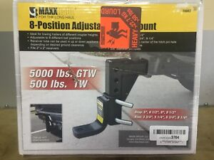 NEW Class III or IV Trailer Hitch - 8 Position Adjustable