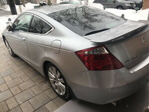 2008 Honda Accord EXL V6 manual