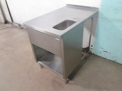 Heavy Duty Commercial 100 Stainless Steel Service Countertable Wwash Sink