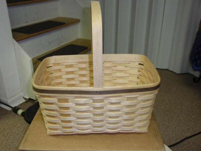 """Longaberger EXTREMELY RARE, """"Special Event"""" Basket, Signed, NEW!!"""