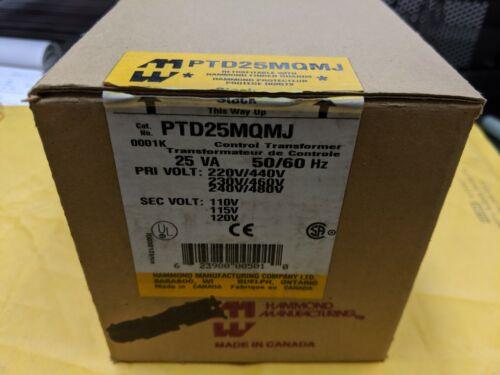 HAMMOND  PTD25MQMJ  25VA  50/60HZ CONTROL TRANSFORMER