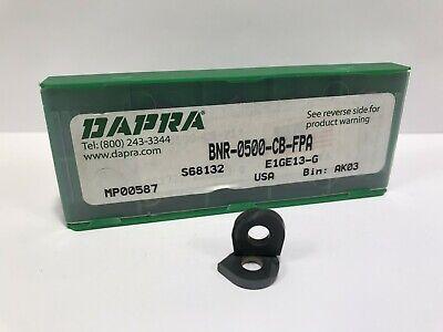 Dapra Bnr-0500-cb-fpa New Carbide Inserts 10pcs