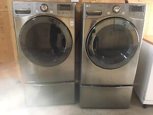 High eff.-High capacity LG front load Washer & Dryer