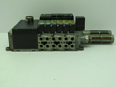 CPV-14-VI CPV14-VI-P4-1//8-B1 161 360 Festo 4X manifold assembly Used and Tested