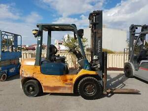 Toyota 2500kg diesel forklift. Rare as hens teeth! Malaga Swan Area Preview
