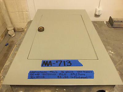 Westinghouse 100 Amp Panel Panelboard Mlo 120v240v 208v Breaker Single 1 Phase