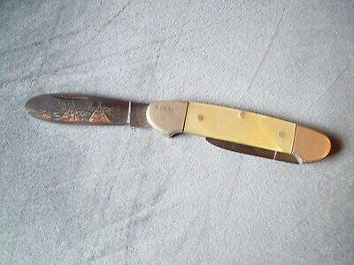 Vintage Boker Tree Brand Solingen Germany 1977 LTD Pocket Knife #12879