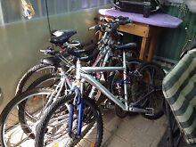 Assorted mountain bikes West Richmond West Torrens Area Preview
