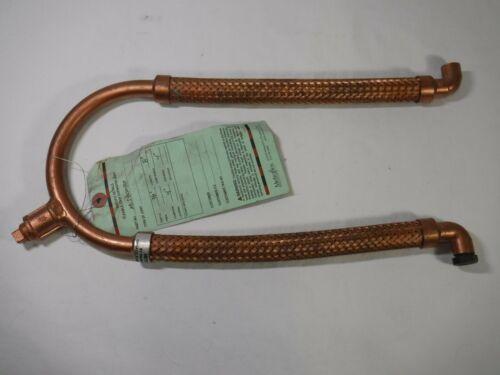 """1/2"""" Metraflex Braided Copper MetraLoop Flexible Loop Expansion Joint MLS80050"""