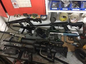 Paintball guns/tanks/hoppers/balls and much more