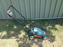 Black N Decker electric lawnmower with catcher Ormeau Gold Coast North Preview