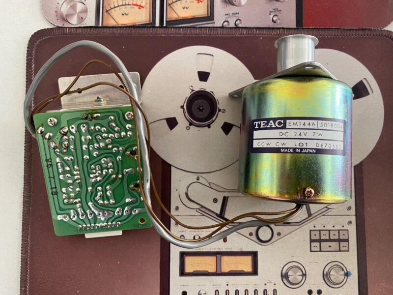 pioneer, teac, reel to reel tape recorder. new motor for pioneer rt909