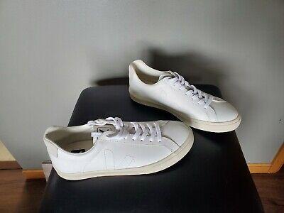 Veja Esplar Leather Sneaker White Women's Size 9