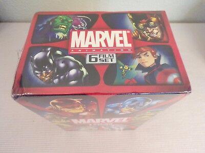Marvel Animation 6 Film DVD Hulk VS Wolverine Thor Avengers Iron Man Strange new ()