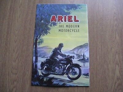 Ariel 1959 Brochure