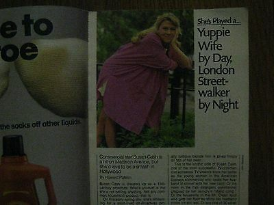 1986 TV Guide(SUSAN CASH/ROBERT URICH/BARBARA STOCK/SARAH FERGUSON/ROYAL WEDDING