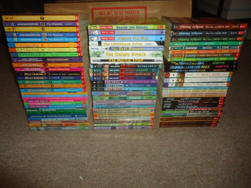 Lot 85 Children's Chapter Books 4th 5th 6th Grades Lemonade War Troll King Animo