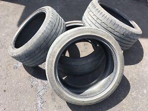 Set pneus Dunlop 18po 245/40/18