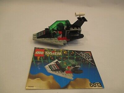 Vintage Lego 6813 Space Police 100% COMPLETE W/Instructions Excellent Condition