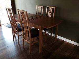 TIMBER BEECH NICK SCALI DINING TABLE Grays Point Sutherland Area Preview