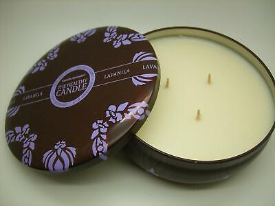Lavender Natural Candle (LAVANILA NEW XLARGE THE HEALTHY CANDLE VANILLA LAVENDER 100% NATURAL, 60 HR BURN )