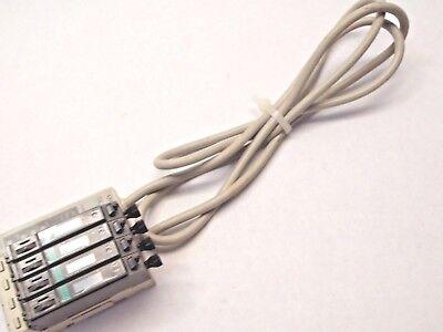 Sunx Fiber Optic Sensor Block Sl-bw W 4 Fx-d1pj