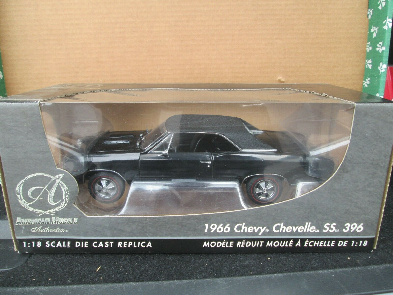 Ertl Authentics 1966 Chevy Chevelle SS 396 Limited Edition 1 18 Diecast In Box - $20.50