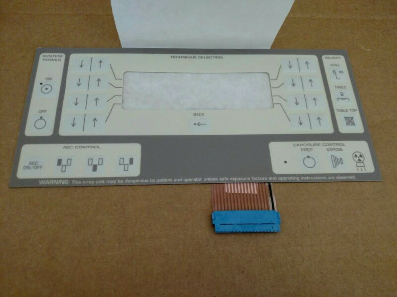 Summit X-Ray Console Push Button Control Key Pad - A802 Console