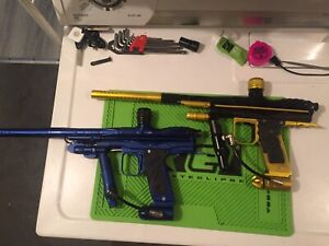 WTB Autocockers, CCM Pumps, Old paintball markers