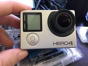 Hero 4 Silver + Accessories Set !!!!!!! Summer Hill Ashfield Area Preview