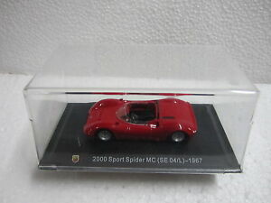 2000-Sport-Spider-MC-SE-04-L-1967-ESC-1-43-ABARTH-COLLECTION-HACHETTE-CARS