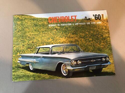 VINTAGE ORIGINAL 1960 CHEVROLET DEALER BROCHURE CATALOG
