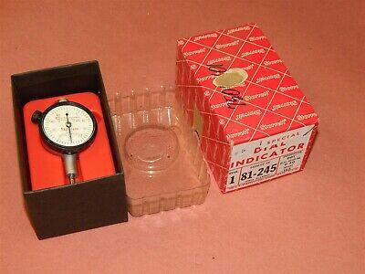 Starrett Dial Indicator 81-245 Rebranded 0-125 Range .001 New In Box