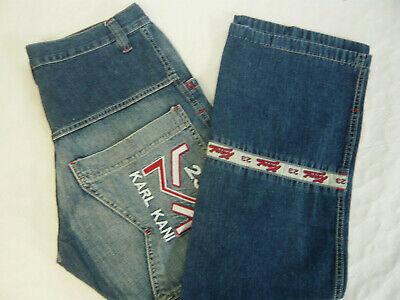 9811cfaa KARL KANI Herren Jeans Skater Hip-Pop Baggy Vintage Pant Gr. W32 Blau A527