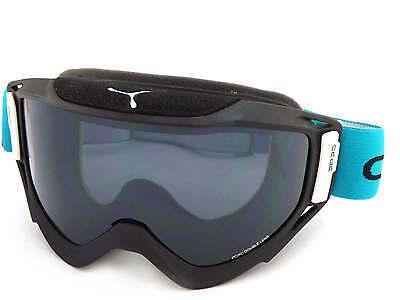 Cébé Legend L Gafas Nieve Esquí Mate Negro-Azul Bloque/Gris Espejo Cat.3 CBG82
