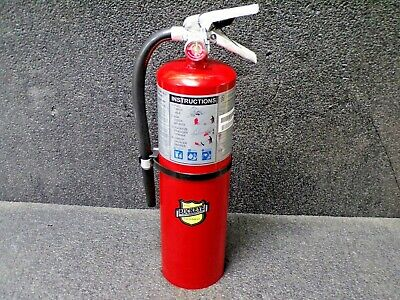 Buckeye 11340 Fire Extinguisher 4a80bc Dry Chemical 10 Lb. 21h