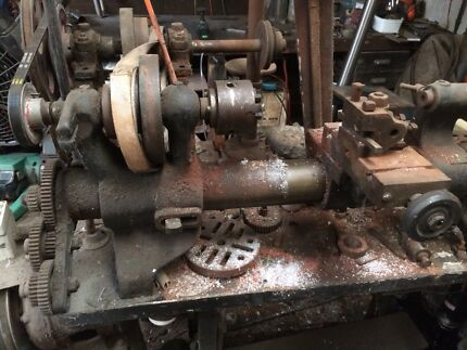Antique lathe