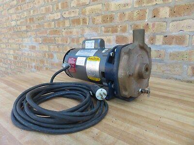 Price 12 Hp Water Circulator Bronze Pump Baldor Motor 115 230 V Single Phase